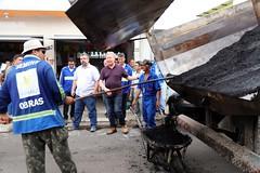 20.06.2018 – Mutirão de obras no bairro do Alvorada