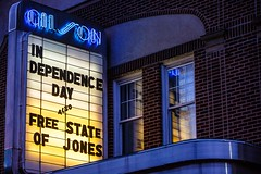 Winsted, CT - 7/2/16 - #365 (joefgaylor) Tags: winsted connecticut newengland theater theatre marquee signage neonsign neon neonlight neonlights typography fjgaylor josephgaylorphotographer fineartphotography joegaylorphotography joegaylor