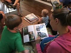 "Paul and Mommy Looks Through His Cousins Camp Album • <a style=""font-size:0.8em;"" href=""http://www.flickr.com/photos/109120354@N07/28280998247/"" target=""_blank"">View on Flickr</a>"