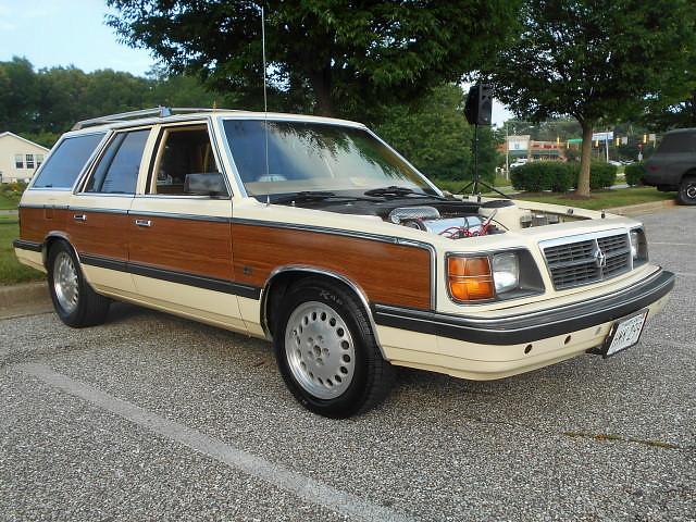 1981 dodge aries k car