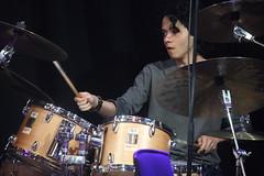 Steve Williamson Trio (2018) 04 - Zoe Pascal (KM's Live Music shots) Tags: jazz portugal zoepascal stevewilliamson drumkit drums ligetiinwonderland fridaytonic southbankcentre