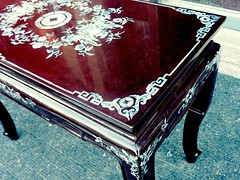 Chinese table, corner view_0523 (Steven Czitronyi) Tags: chinese coffeetable motherofpearl