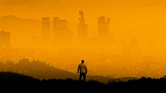 I Own the City (Stachmo) Tags: own city gta v grand theft auto gtav skyline los santos urban reshade screenshot video game digital art