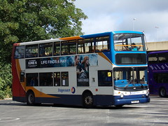 Stagecoach Midlands TransBus Trident (TransBus ALX400) 18152 PX04 DPF (Alex S. Transport Photography) Tags: vehicle outdoor stagecoach bus road northampton northamptonnorthgate northgate northamptonbusstation stagecoachmidlandred stagecoachmidlands transbustrident transbusalx400 alx400 alexanderalx400 dennistrident trident route7 18152 px04dpf