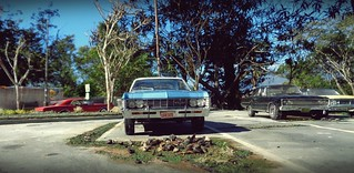 Late Sixties Parking Lot