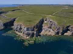 #103 The Chapel (Timster1973 - thanks for the 16 million views!) Tags: mavic drone uav quadcopter dji mavicprodrone djimavicpro fly up uphigh droneflying tim knifton timster1973 timknifton explore exploration perspective lookdown lookingdown color colour chapel rocks coast coastal wales welsh land landscape water waterscape sea seascape visitwales yearofthesea beach beaches outdoor outdoors exterior religious religion westwales flickr