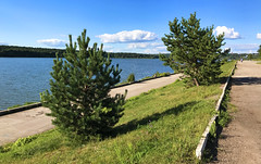 Yachenskoe Reservoir (Irina.yaNeya) Tags: kaluga russia europe countryside landscape park water lake sky clouds nature trees tree grass road forest iphone summer rusia paisaje parque agua lago cielo nubes naturaleza árboles hierba carretera كالوغا روسيا حديقة ماء بحيرة سماء سحاب طبيعة أشجار عشب طريق яченскоеводохранилище калуга россия пейзаж парк вода озеро небо облака природа деревья трава дорога дерево