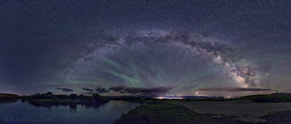Milky Way Over Driggs ID