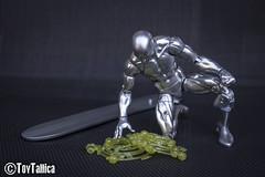 Marvel Legends Silversurfer (ToyTallica) Tags: toyphotography toys toycollecting toytallica toy walmart marvel marvelcomics marvellegends silversurfer deadpool hasbro hasbropulse hasbrotoypic