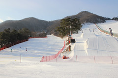 Jisan Ski Resort (dbind747438) Tags: jisan ski resort seoul south korea asia country outdoors snow mountain hills slopes perspective