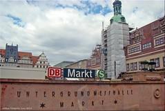 Leipzig/Germany - Marktplatz