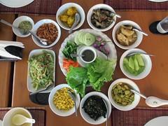 Typical Burmese Meal (D-Stanley) Tags: myanmar food burmese meal restaurants