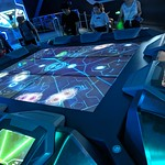 Interactive exhibit 2, Tron aftershow, Shanghai Disney, Pudong, Shanghai, China thumbnail