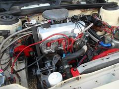 1987 Dodge Aries LE Wagon (splattergraphics) Tags: 1987 dodge aries wagon stationwagon engine custom 22 mopar fwdmopar cruisenight lostinthe50s marleystationmall glenburniemd
