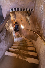 Down and Around (EOS 6D6518e) (Tom of Fenton) Tags: grandcanyonnationalpark grandcanyon deserttower tower stairs spiralstairway photographer down