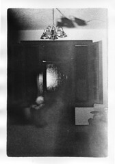 """""""Subtle Agnosia"""" (G.L.A.D.) Tags: 35mm experimental expressionism surrealism abstract macabre tmzp3200 bw bnw contemporary conceptual room darkroom darkart outsiderart film filmisnotdead pushedfilm silvergelatin print filmphotography people ghosts abberation"""
