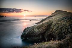 Wooltack Sunset (garethleethomas) Tags: sunset sea coast landscape seascape cliff wales pembrokeshire view sun