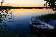 Summer eve (Antti Tassberg) Tags: kesä landscape pitkäjärvi ilta laaksolahti vene espoo järvi suomi boat evening finland lake scandinavia twilight uusimaa fi