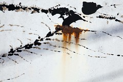 Le conte d'hiver (Gerard Hermand) Tags: 1805113873 peinture shakespeare gerardhermand france paris eos5dmarkii abstract abstraction abstrait blanc door metal paint porte rouille rust white canon