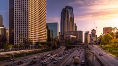 Downtown LA (photoserge.com) Tags: downtown losangeles composition leading lines colors cloud sky building architecture