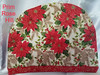 Poinsettia Christmas Tea Cozy 1 (Prim*Rose*Hill) Tags: poinsettia cosy cozy tea christmas pinecones holly holiday