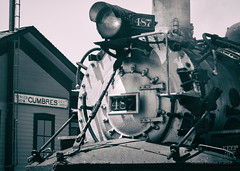 Summit of the Narrow Gauges (Wheelnrail) Tags: ct cumbres toltec scenic railroad railway steam locomotive rail rails train trains pass mountain colorado co water station narrow gauge tender rockies denver rio grande western west is best