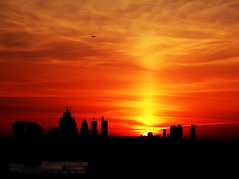 London at Sunset (Waterford_Man) Tags: sunset london greenwich park city thames england sky