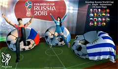 Angelux Russia World Cup Beanbag (Angelux Encantadora83) Tags: sl secondlife world soccer beanbag animations angelux