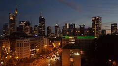 TheNightIsCrawlingIn (Lothbrok'sYen) Tags: frankfurt night skyline wolkenkratzer buildings skyscraper lights germany