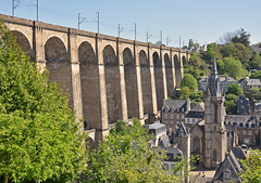 129MorlaixViaductAndTownFromAbove (geomappingunit) Tags: brittany 2018 fieldtrip geography morlaix viaduct