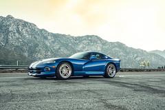 Blue Dodge Viper GTS - ADV.1 ADV05 Track Spec Advanced Series Wheels (ADV1WHEELS) Tags: dodge viper mopar adv1 adv1wheels forgedwheels customwheels racingstripes concave concavewheels losangeles