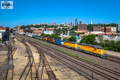 Westbound UP Yard Job Train at Kansas City, MO (Mo-Pump) Tags: train railroad railfan railroader railway railroading locomotive