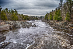 St. Louis River (TCeMedia/Telecide) Tags: st louis river minnesota nature water trees rocks clouds jay cooke landscape