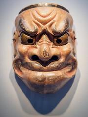 Mask (AMcUK) Tags: taitōku tōkyōto japan em10 omdem10 omdem10mkii em10mkii omd olympus olympusuk m43 micro43rds micro43 microfourthirds nippon tokyo museum artifact jp mask traditional