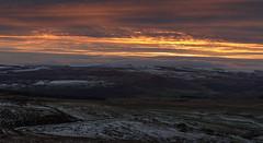 Higger Tor (Gary S Griffiths) Tags: landscape sunset fog moorland sony darkpeak peakdistrict higgertor goldenhour snowice