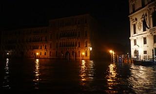 Palazzo Giustinian et Ca' Foscari, Canal Grande, Venise, Vénétie, Italie.