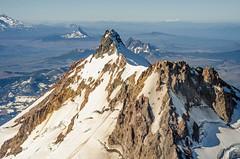 Jefferson and Points South (Tom Fenske Photography) Tags: oregon aerial landscape mountain jefferson cascades volcano