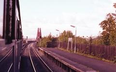 train set gloomy (foundin_a_attic) Tags: train trains dalmeny station railway forthbridge westlothian scotland dùnmheinidh