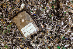 Electronic Recycling Company (Norman Stokes) Tags: broken crushed data demolishing destruction disposal drive ewaste electronic file frame full hard harddrive horizontal industry information it landfill loss metal no nobody people protection recycling ruined scrap secure security shredded site smashing
