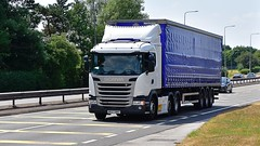 MK67 NND (Martin's Online Photography) Tags: scania g410 truck wagon lorry vehicle freight haulage commercial transport a580 leigh lancashire nikon nikond7200