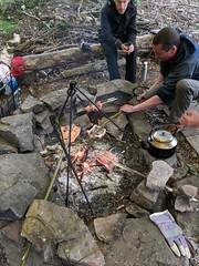 Bushcraft weekend in Edale (nilexuk) Tags: 2018 june camping peak district instruction edaile edale highfield campsite