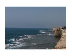 Acre, Israel (cadadiamaslejos) Tags: sky blue sea unesco acre israel wall history travel explore landscape
