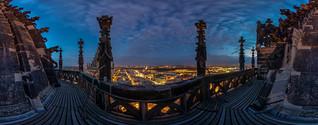 Magdeburgs Blaue Stunde - 360°
