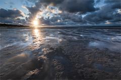 Nothing beats the Dutch beach! (karindebruin) Tags: goereeoverflakkee nederland stellendam thenetherlands zonsondergang zuidholland beach clouds reflectie reflection sand strand sunset water wolken zand