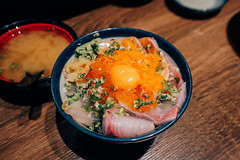 石川生魚蓋飯 (aelx911) Tags: a7rii a7r2 sony carlzeiss fe1635mm 1635mm food sushi fish don japanesefood japan 台灣 台北 石川日式食堂 生魚片蓋飯