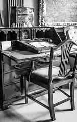 Desk of Beatrix Potter (Shutterbytes by Michele Hamilton) Tags: beatrixpotter cumbria england hilltopfarm june2018 unitedkingdom architecture chair desk furniture home writingpad nearsawrey gb author illustrator