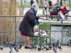 MrUlster 20170310 - Paris - P3103212 (Mr Ulster) Tags: pigeons france elderly park paris travel feeding