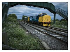 Direct Rail Supermodels. (-Metal-M1KE-) Tags: 37409 drs claymills burtonupontrent derbyrtcdidcot englishelectric ee 12csvt largelogo
