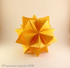 Twilight 30 v4 (mancinerie) Tags: origami modularorigami paperfolding papiroflexia mancinerie francescomancini icosahedron