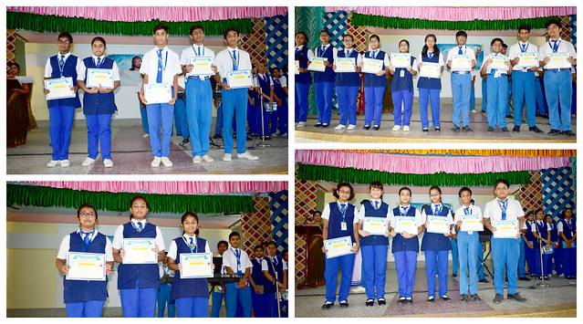 Distribution of Certificates for full attendence